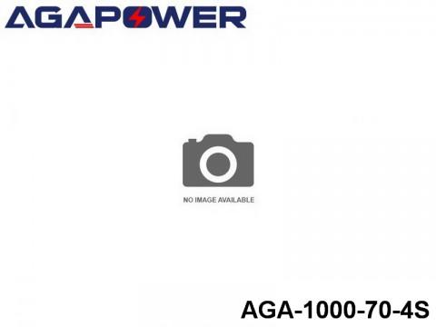 32 AGA-Power 70C Lipo Battery Packs AGA-1000-70-4S Part No. 87006