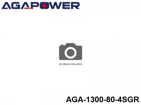 12 AGA-Power 80C Graphene Battery Packs AGA-1300-80-4SGR Part No. 88006