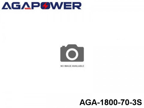 38 AGA-Power 70C Lipo Battery Packs AGA-1800-70-3S Part No. 867011