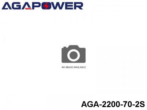152 AGA-Power-70C RC Heli and Plane Lipo Packs 70 AGA-2200-70-2S 7.4 2S1P