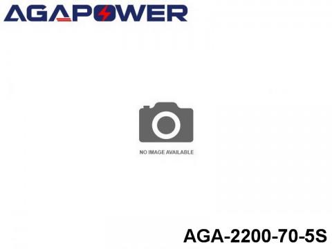 155 AGA-Power-70C RC Heli and Plane Lipo Packs 70 AGA-2200-70-5S 18.5 5S1P