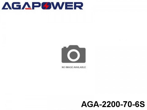 156 AGA-Power-70C RC Heli and Plane Lipo Packs 70 AGA-2200-70-6S 22.2 6S1P
