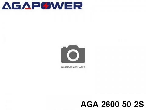 112 AGA-Power 50C Lipo Battery Packs AGA-2600-50-2S Part No. 85006