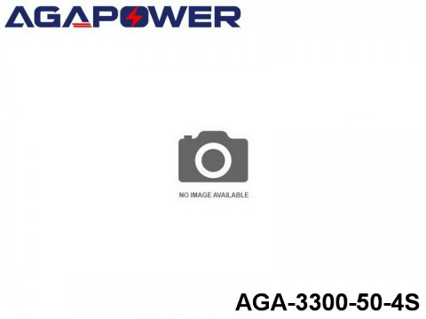 13 AGA-Power-50C RC Heli and Plane Lipo Packs 50 AGA-3300-50-4S 14.8 4S1P