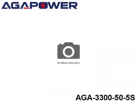 120 AGA-Power 50C Lipo Battery Packs AGA-3300-50-5S Part No. 85014