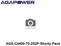 314 AGA-Power 70C Hard Case Packs AGA-C4400-70-2S2P-Shorty-Pack Part No. 67001