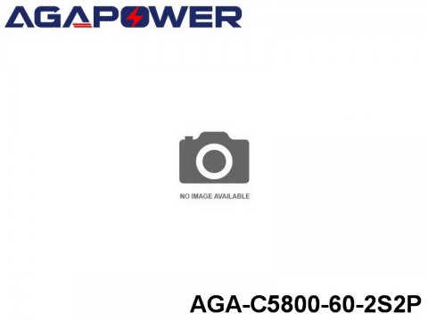 325 AGA-Power 60C Hard Case Packs AGA-C5800-60-2S2P Part No. 66001
