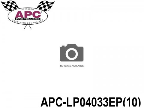 APC-LP04033EP(10) APC Propellers ( 3 inch x 3 inch ) - ( 76,2 mm x 76,2mm ) ( 10 pcs - set ) 686661041578
