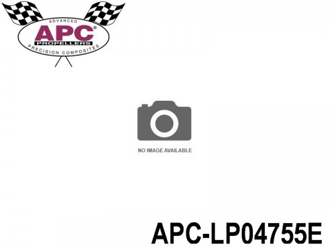 APC-LP04755E APC Propellers ( 4,75 inch x 5,5 inch ) - ( 120,65 mm x 139,7mm ) ( 1 pcs - set ) 686661040151