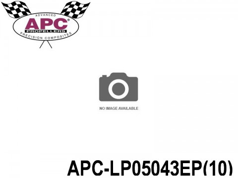 APC-LP05043EP(10) APC Propellers ( 5 inch x 4,3 inch ) - ( 127 mm x 109,22mm ) ( 10 pcs - set ) 686661050280