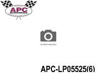 APC-LP05525(6) APC Propellers ( 5,5 inch x 2,5 inch ) - ( 139,7 mm x 63,5mm ) ( 6 pcs - set ) 686661050044