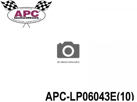 APC-LP06043E(10) APC Propellers ( 6 inch x 4,3 inch ) - ( 152,4 mm x 109,22mm ) ( 10 pcs - set ) 686661060227
