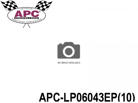 APC-LP06043EP(10) APC Propellers ( 6 inch x 4,3 inch ) - ( 152,4 mm x 109,22mm ) ( 10 pcs - set ) 686661060234