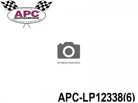 APC-LP12338(6) APC Propellers ( 12,25 inch x 3,75 inch ) - ( 311,15 mm x 95,25mm ) ( 6 pcs - set ) 686661120075