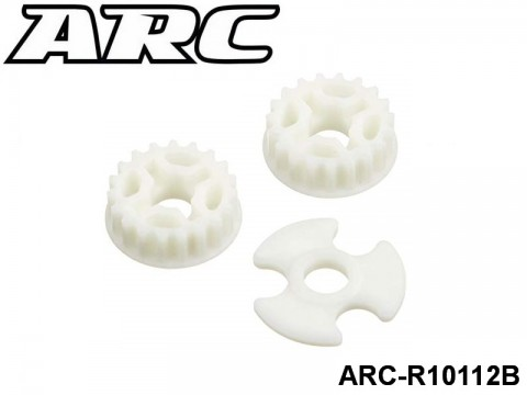 ARC-R10112B Low Friction 19T Centeral Pulley 2pcs 799