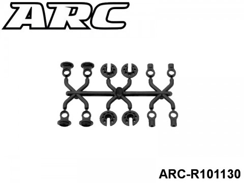 ARC-R101130 Shock Ball Joint Set Big Bore 799975265995