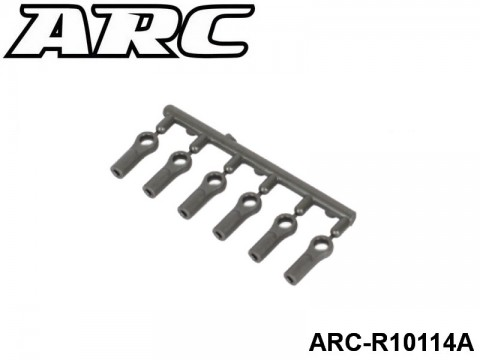 ARC-R10114A Ball Joint 4.9mm Open 6pcs (LF) UPC