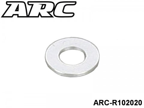 ARC-R102020 3x6x0.5mm Alu Shims(8pcs) 799975264233