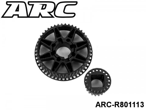 ARC-R801113 Pulley Set -Rear UPC