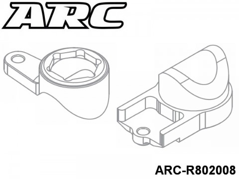 ARC-R802008 Servo Saver Upper UPC