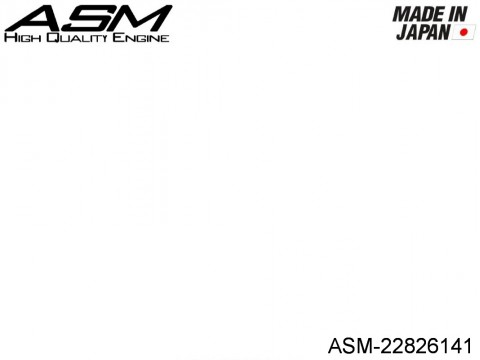 ASM High Quality Engines ASM-22826141 ASM EXHAUST SEAL RING 21