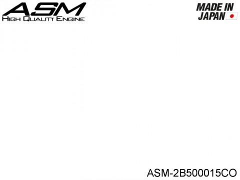 ASM High Quality Engines ASM-2B500015CO ASM R02SP Type 5 COMPLETE BREAK IN INNER HEAD C1 FANNEL M1 With carburettor FANNEL M2
