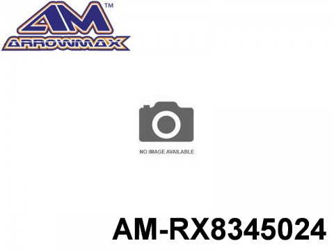 Arrowmax AMRX8345024 FRONT ONE-WAY AXLE PULLEY 24T (7075 HARD)