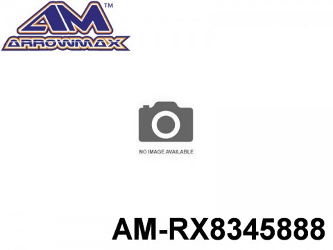 Arrowmax AMRX8345888 SIDE BELT PULLEY 28T - FRONT(7075 HARD)