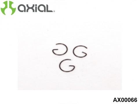AXIAL Racing AX00066 Engine Piston Pin G-Clip (3pcs)
