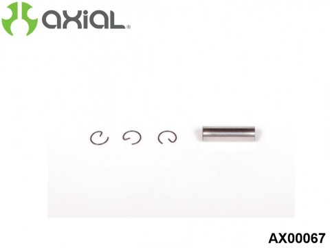 AXIAL Racing AX00067 Engine Piston Pin and Retainer Set