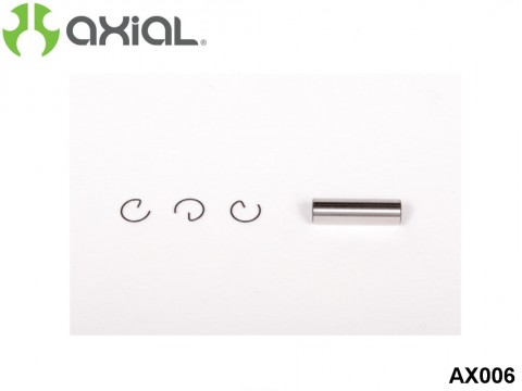 AXIAL Racing AX006 28 Engine Piston/Pin Retainer Set