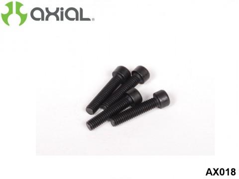 AXIAL Racing AX018 28 / 32 Engine Screw M3.5 X 16mm for Heat Sink Head (4 Pcs)