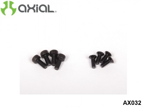 AXIAL Racing AX032 28 / 32 Engine Pull Start Screw Set (8 Pcs)