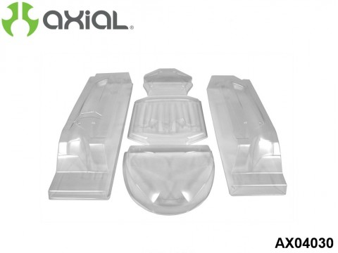 "AXIAL Racing AX04030 EXO Terra Buggy Body - .040"" (Clear)"