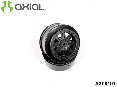 AXIAL Racing AX08101 2.2 3.0 Raceline Renegade Wheels - 41mm (Black) (2pcs)