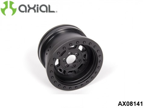 AXIAL Racing AX08141 2.2 Trail Ready HD Series Beadlock w/Slim Ring - IFD™ Wheels - Black(2pcs)