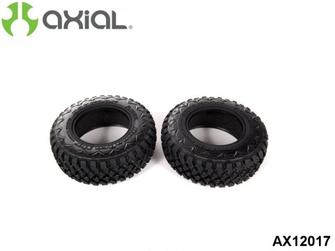 AXIAL Racing AX12017 2.2 3.0 Hankook Dynapro Mud Terrain Tires 34mm - R35 Compound (2pcs)