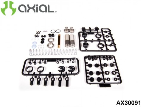 AXIAL Racing AX30091 67-90mm Shock Set - 10mm Piston (2pcs)