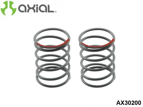 AXIAL Racing AX30200 Spring 12.5x20mm 3.6 lbs/in - Super Soft (Red) - (2pcs)