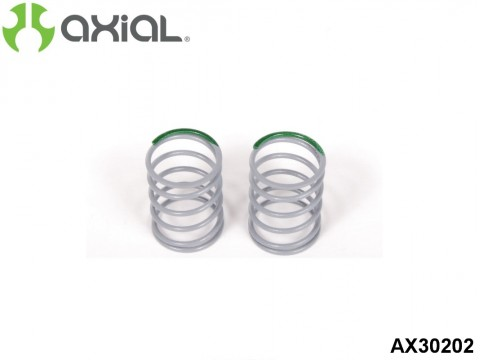 AXIAL Racing AX30202 Spring 12.5x20mm 5.44 lbs/in - Medium (Green) - (2pcs)