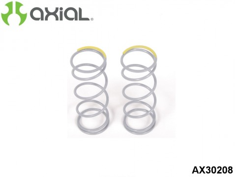 AXIAL Racing AX30208 Spring 12.5x40mm 5.44 lbs/in - Firm (Yellow) - (2pcs)