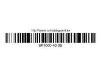 370 BILLOWY-Power X5-40C Lipo Packs Series: 40 BP1000-40-3S 11.1 3S1P