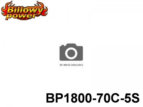 4 BILLOWY-Power X5-70C Lipo Packs Series: 70 BP1800-70C-5S 18.5 5S1P
