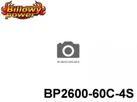 43 BILLOWY-Power X5-60C Lipo Packs Series: 60 BP2600-60C-4S 14.8 4S1P