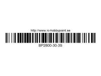 359 BILLOWY-Power X5-30C Lipo Packs Series: 30 BP2800-30-3S 11.1 3S1P