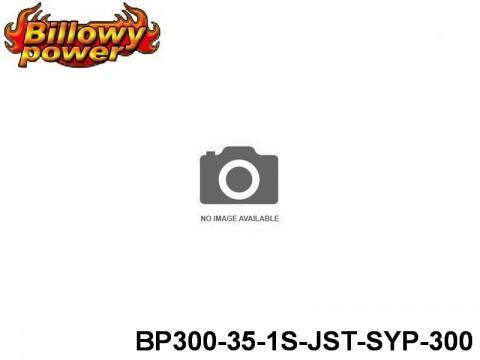 132 BILLOWY-Power X5-35C Lipo Packs Series: 35 BP300-35-1S1P