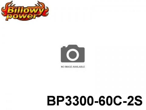 46 BILLOWY-Power X5-60C Lipo Packs Series: 60 BP3300-60C-2S 7.4 2S1P