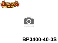 108 BILLOWY-Power X5-40C Lipo Packs Series: 40 BP3400-40-3S 11.1 3S1P