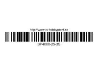 349 BILLOWY-Power X5-25C Lipo Packs Series: 25 BP4000-25-3S 11.1 3S1P