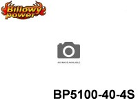 126 BILLOWY-Power X5-40C Lipo Packs Series: 40 BP5100-40-4S 14.8 4S1P